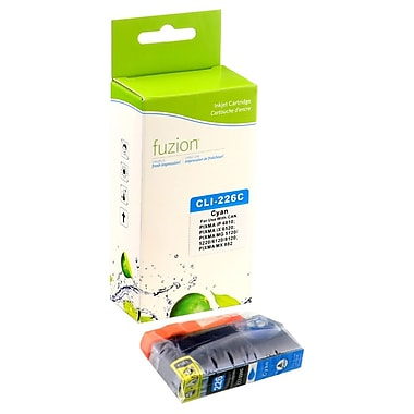 fuzion™ New Compatible Canon CLI226C Cyan Ink Cartridges, Standard Yield (CLI226C)