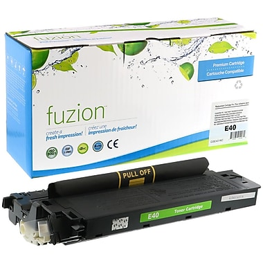 fuzion™ New Compatible Canon E40 Black Toner Cartridges, Standard Yield (1491A002AA)