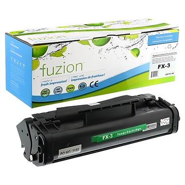 fuzion™ New Compatible Canon FX3 Black Toner Cartridges, Standard Yield (1557A013AA)