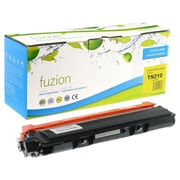 Fuzion – Cartouche de toner jaune compatible Brother TN-210, rendement standard (TN210Y)