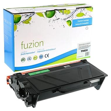 fuzion - Cartouche de toner noir neuve, compatible Brother de série TN820, rendement standard (TN820)