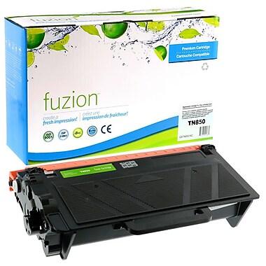 fuzion - Cartouche de toner noir neuve, compatible Brother de série TN850, noir, haut rendement (TN850)