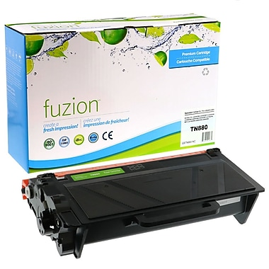 fuzion™ Brother TN880 Series Black Extra, High Yield New Compatible Toner Cartridge (TN880)