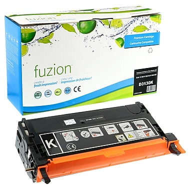 fuzion™ Remanufactured Dell 3130CN Black Toner Cartridges, Standard Yield (3301198)