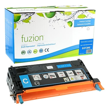 fuzion™ Remanufactured Dell 3130CN Cyan Toner Cartridges, Standard Yield (3301199)