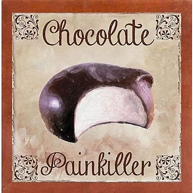 Winston Porter 'Chocolate Therapy I' Graphic Art Print; Canadian Walnut Medium Framed