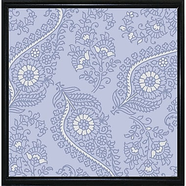 Winston Porter 'Kasbah Blue III' Graphic Art Print; Metal Flat Black Framed