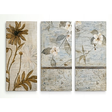 August Grove 'Spring Cherry Blossoms I' Acrylic Painting Print Multi-Piece Image on Wrapped Canvas