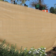 Aleko Sample Eye Outdoor Backyard Fencing Privacy Windscreen; Beige