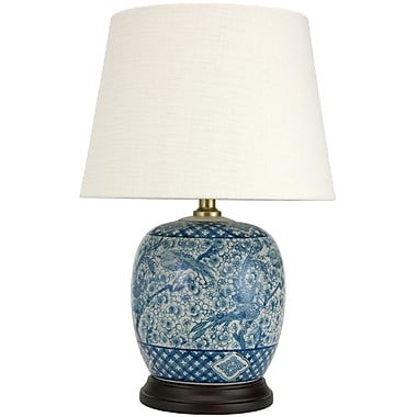 World Menagerie Summers 20'' Table Lamp