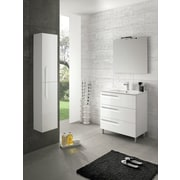 Brayden Studio Oberlin 43'' Single Bathroom Vanity Set; White