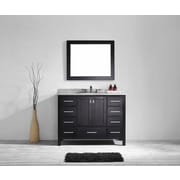 Brayden Studio Pichardo 42'' Single Bathroom Vanity Set; Espresso