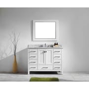 Brayden Studio Pichardo 42'' Single Bathroom Vanity Set; White