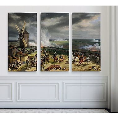 Astoria Grand 'Battle of Valmy' Acrylic Painting Print Multi-Piece Image on Wrapped Canvas
