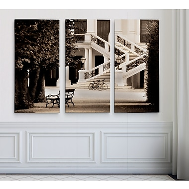Astoria Grand 'Castle Schonbrunn' Photographic Print Multi-Piece Image on Wrapped Canvas