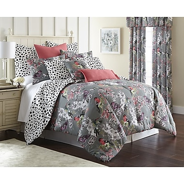 Bayou Breeze Orean Reversible Comforter Set; King