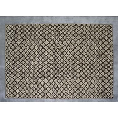 Ebern Designs Ballantyne Ivory Area Rug; Rectangle 5'3'' x 7'2''