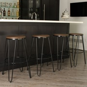Brayden Studio Scuderi 30'' Bar Stool (Set of 4)