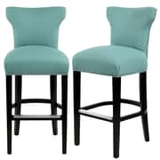 Darby Home Co Dougherty 31'' Bar Stool; Lagoon