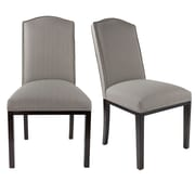 Darby Home Co Harpole Upholstered Dining Chair (Set of 2); Dolphin