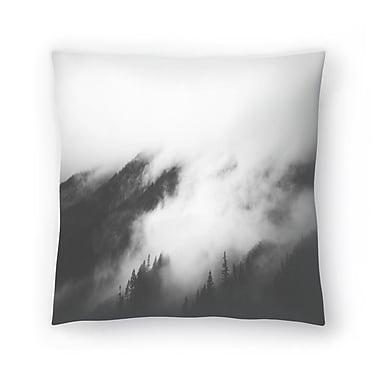 East Urban Home Luke Gram Rolling Fog I Throw Pillow; 16'' x 16''