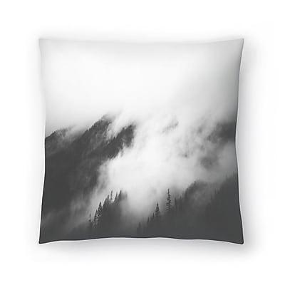 East Urban Home Luke Gram Rolling Fog I Throw Pillow; 18'' x 18''