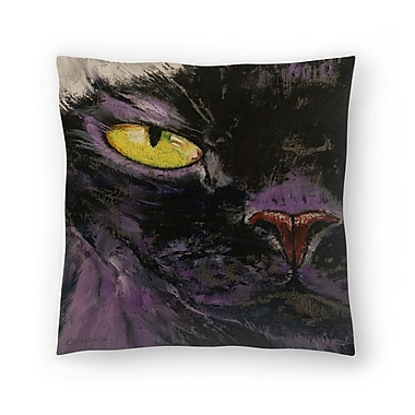 East Urban Home Michael Creese Sphynx Cat Throw Pillow; 20'' x 20''