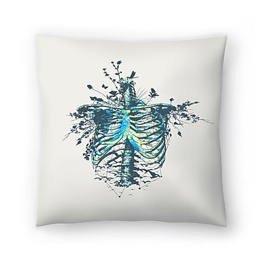 East Urban Home Tracie Andrews Keep Going Throw Pillow; 14'' x 14''