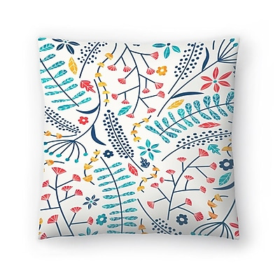 East Urban Home Tracie Andrews Koromiko Throw Pillow; 14'' x 14''