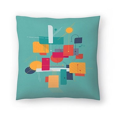 East Urban Home Tracie Andrews Thinking of Summer Throw Pillow; 16'' x 16''