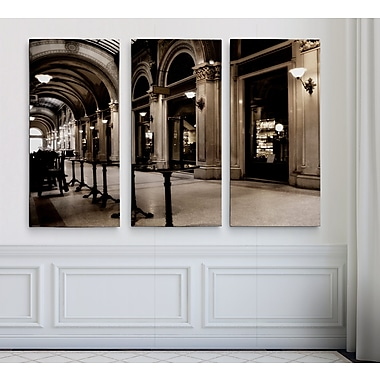 East Urban Home 'In the City of Vienna' Photographic Print Multi-Piece Image on Wrapped Canvas