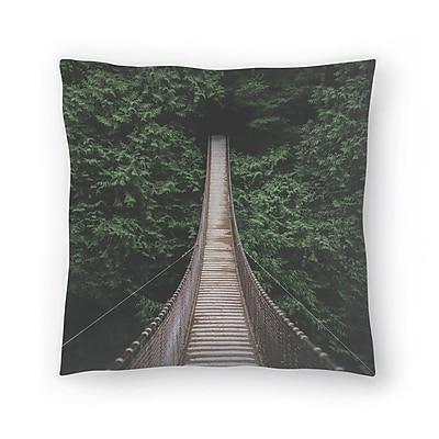 East Urban Home Luke Gram Bridge3 Best Dirtremoved Throw Pillow; 20'' x 20''