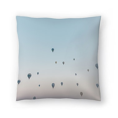 East Urban Home Luke Gram Cappadocia Turkey Throw Pillow; 20'' x 20''