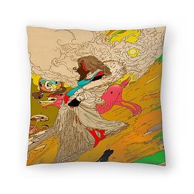 East Urban Home Kasi Minami Mother Throw Pillow; 20'' x 20''
