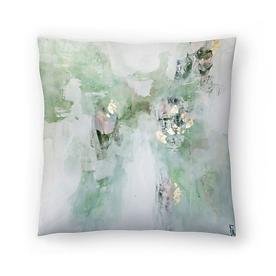 East Urban Home Christine Olmstead Leaf It Alone Throw Pillow; 16'' x 16''