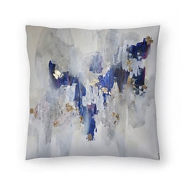 East Urban Home Christine Olmstead North Throw Pillow; 14'' x 14''