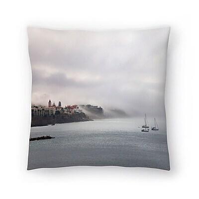 East Urban Home Maja Hrnjak Cascais Throw Pillow; 16'' x 16''