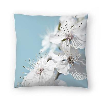 East Urban Home Maja Hrnjak Cherry Blossom Throw Pillow; 20'' x 20''