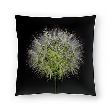 East Urban Home Maja Hrnjak Dandelion Throw Pillow; 18'' x 18''