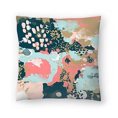 East Urban Home Charlotte Winter Eisley Throw Pillow; 18'' x 18''