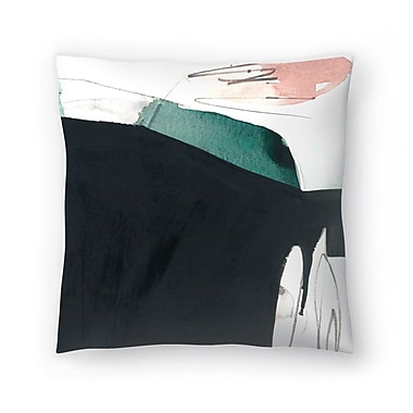 East Urban Home Olimpia Piccoli Day One Ii Throw Pillow; 18'' x 18''