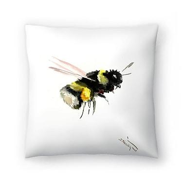 East Urban Home Suren Nersisyan Bumblebee 2 Throw Pillow; 20'' x 20''