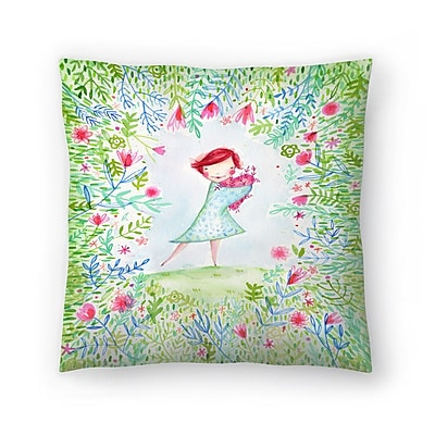 East Urban Home Paula Mills Hearts are Made for Love Throw Pillow; 14'' x 14''