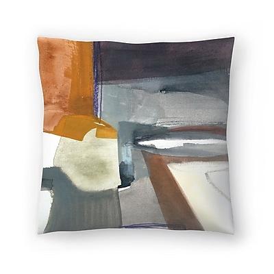 East Urban Home Olimpia Piccoli Traces Throw Pillow; 20'' x 20''