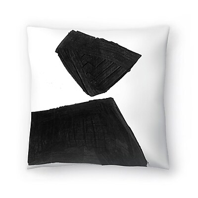 East Urban Home Olimpia Piccoli Without Words I Throw Pillow; 20'' x 20''