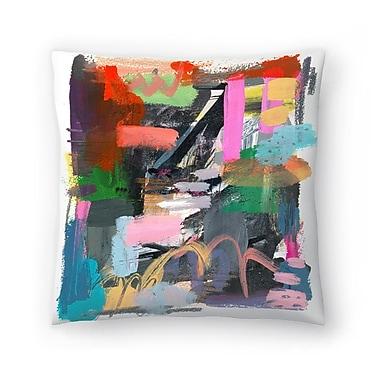 East Urban Home Olimpia Piccoli Let Them be Wild Throw Pillow; 20'' x 20''