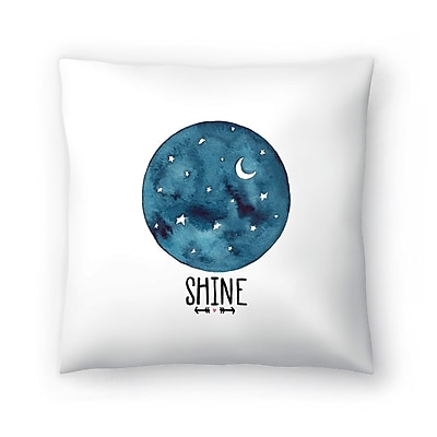 East Urban Home Elena O'Neill Shine Throw Pillow; 20'' x 20''