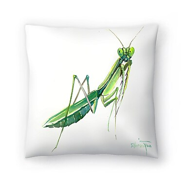 East Urban Home Suren Nersisyan Raying Mantis Throw Pillow; 14'' x 14''