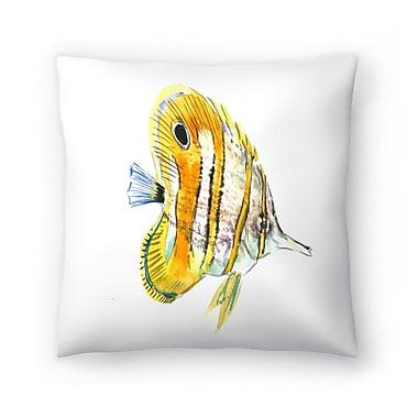 East Urban Home Suren Nersisyan Fish Angelfish Suren 2 Throw Pillow; 20'' x 20''