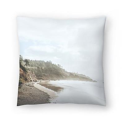 East Urban Home Luke Gram Ecola State Park Oregon Throw Pillow; 18'' x 18''